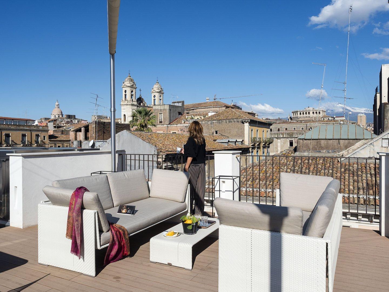 Terrazza Panoramica Duomo Suites Spa Catania
