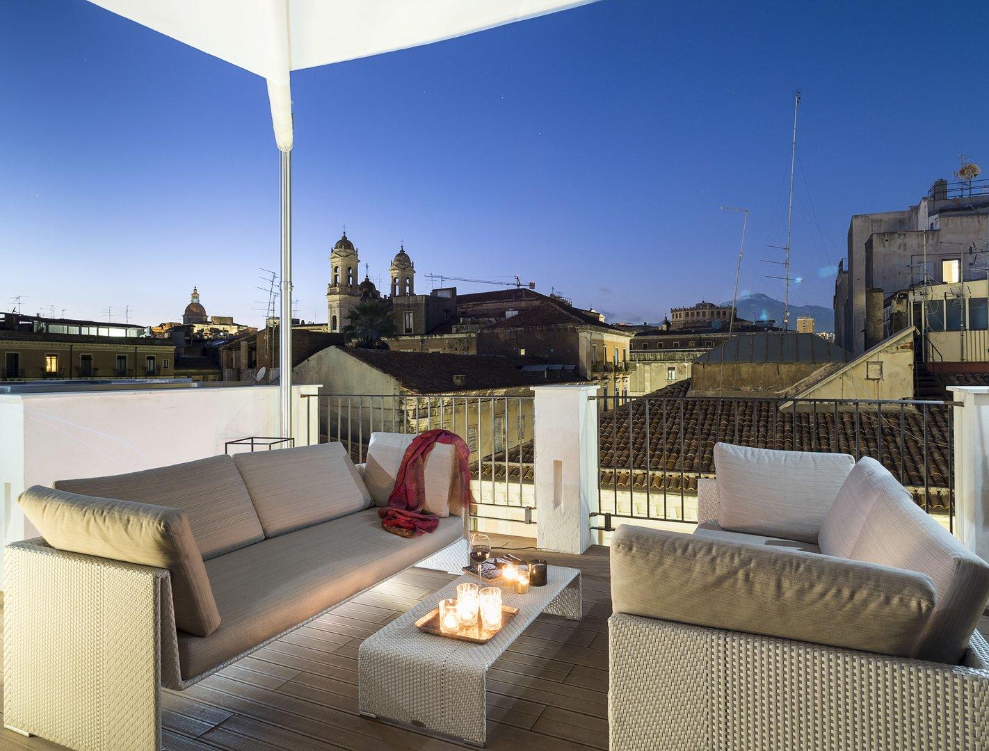Terrazza panoramica | Duomo Suites & SPA Catania